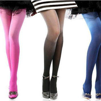 Trendy Ombre Tights