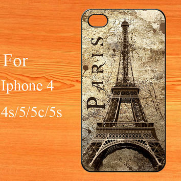 Eiffel Tower iPhone 5s Case, iPhone 5c Case,iPhone 5 case, iPhone Case,the Eiffel Tower pattern design. phone cover.Personalized.Floral