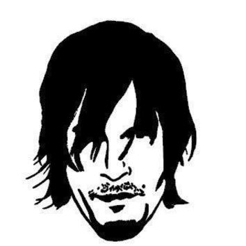 Daryl Dixon Walking Dead  Vinyl Car/Laptop/Window/Wall Decal