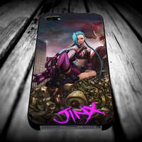 The Legend Of League Jinx 2 for iPhone 4/4s/5/5s/5c/6/6 Plus Case, Samsung Galaxy S3/S4/S5/Note 3/4 Case, iPod 4/5 Case, HtC One M7 M8 and Nexus Case **