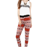 Papaya Clothing Online :: BOHEMIAN BANDED PANTS