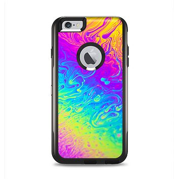 The Neon Color Fushion V2 Apple iPhone 6 Plus Otterbox Commuter Case Skin Set