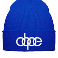 dope dope Bucket Hat,embroidery,hat - Beanie Cuffed Knit Cap