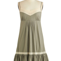 Ryu Vintage Inspired Mid-length Sleeveless A-line Festival Fundamentals Dress