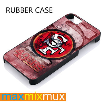 San Fransisco 49 Ers iPhone 4/4S, 5/5S, 5C, 6/6 Plus Series Rubber Case
