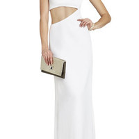 BCBG Kimora Sleeveless Cutout Gown