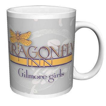 Gilmore Girls Dragonfly Inn Logo  Ceramic Gift Coffee (Tea, Cocoa) Mug