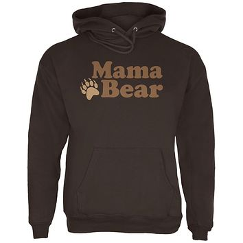 Mothers Day Mama Bear Mens Hoodie