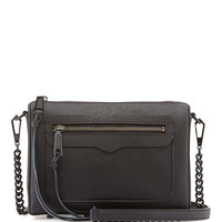 Avery Saffiano Crossbody Bag, Black - Rebecca Minkoff