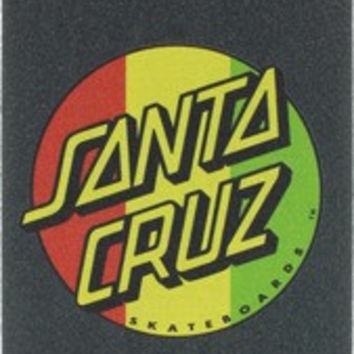 Santa Cruz/Mob Rasta Dot Single Sheet Grip 9X33