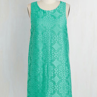 Mid-length Sleeveless Shift Come On Oeuvre Dress