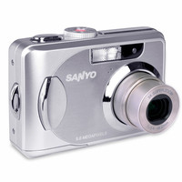 Sanyo Xacti VPC-503 5MP 3x Optical/4x Digital Zoom Camera w/2.4 LCD (Black)