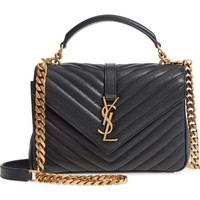 Saint Laurent Medium College Shoulder Bag | Nordstrom