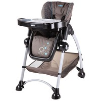 Mia Moda Alto High Chair - Diamonds (Brown)