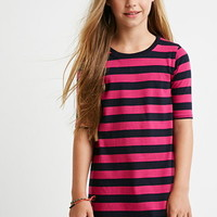Striped T-Shirt Dress (Kids)