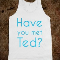 Have you met Ted - Art design