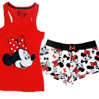 Minnie Mouse Sleepwear Tank top and Shorts P