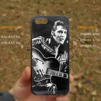 Music Guitar Elvis Presley iPhone 5s case,iPhone 5C ,Samsung Galaxy S3,S4 Case,iPhone 5 Case,iPhone 4,4s case,water proof,Gifts