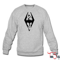 Dragon Emblem crewneck sweatshirt