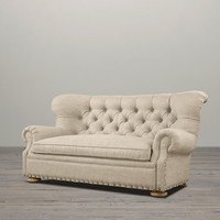Churchill Upholstered Sofas with Nailheads