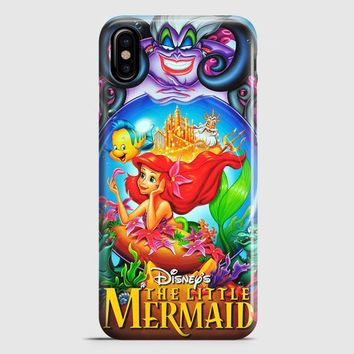 Ariel Tattoo Doodle iPhone X Case