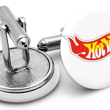 Hot Wheels Mattel Cufflinks