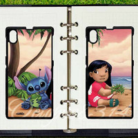 Disney Stitch and Lilo,sony xperia Z1 case,google nexus 4 case,Best friends,in pair two pcs,google nexus 5 case,sony xperia Z case