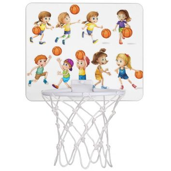 Kids Mini Basketball Backboard