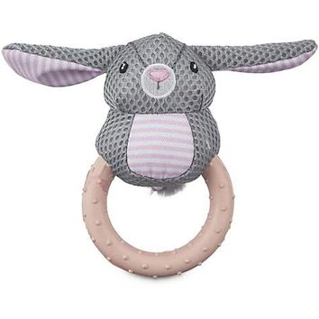 Leaps & Bounds Little Loves Chilly Bunny Ring Dog Toy | Petco