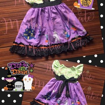 🍫 🍬  🕸  🎃 Madeline Kate - Halloween Parade Dress 🕸  🎃 🍫 🍬  *Preorder 0285* ⏰Closes: July 30th @ 8pm