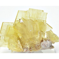 Yellow Barite Crystal Cluster Mineral Specimen Collector's Choice from Peru