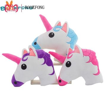 New Creative Unicorn Plush Toys Doll Cute Animal Horse Shape Plush Pillow Gifts For Children Home Decoration