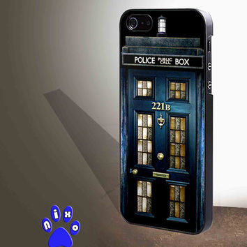 Tardis doctor who Sherlock holmes 221B  for iphone 4/4s/5/5s/5c/6/6+, Samsung S3/S4/S5/S6, iPad 2/3/4/Air/Mini, iPod 4/5, Samsung Note 3/4 Case * NP*