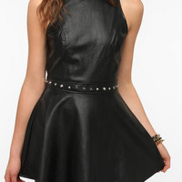 Urban Outfitters - Motel Medusa Faux Leather Studded Dress