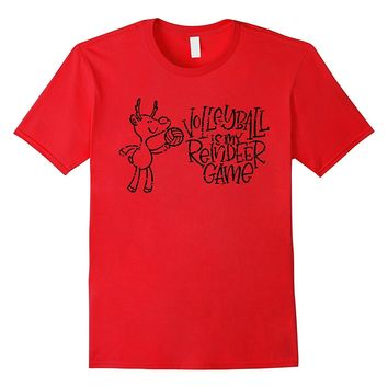 Sports Christmas Volleyball Is My Reindeer Game TShirt Gifts