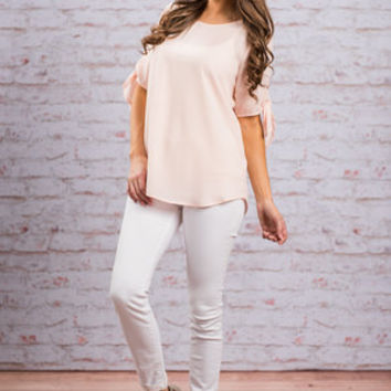 Fit The Motif Top, Rose Quartz