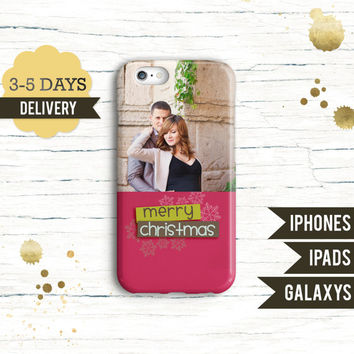 Personalised holiday phone Case - iPhone 6 Plus case iPhone 6 Case iPhone 5 5S Case Samsung Galaxy S5 S4 Case