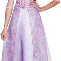 women's costume: rapunzel deluxe | small