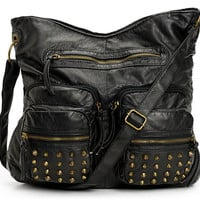 T-Shirt & Jeans Studded Pocket Black Tote Bag at Zumiez : PDP
