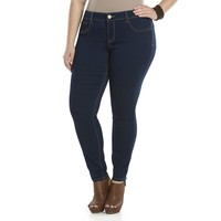 SO Embroidered Pocket Skinny Jeggings - Juniors' Plus, Size:
