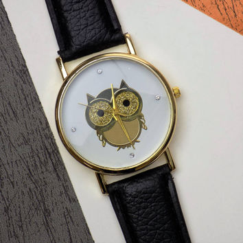 owl watch by arcus accessories | notonthehighstreet.com
