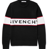 Givenchy - Intarsia Wool Sweater