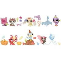 Littlest Pet Shop Cutest Pets - Funny Sunny Picnic with Skunk, Woodpecker and Fox