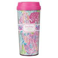 Lilly Pulitzer Thermal Mug: Lets Cha Cha
