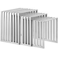 Duct Nesting Table Silver