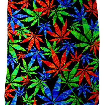 Weeds 3D Fleece Blanket