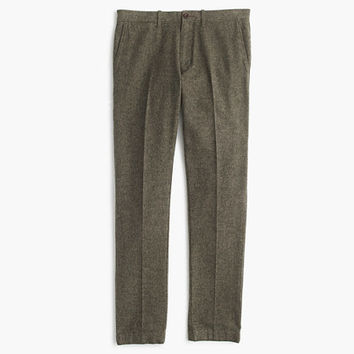 J.Crew Mens Brushed Cotton Twill Mélange Chino In 484 Fit