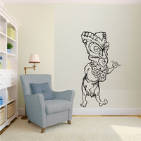 Tiki Dude Decal Sticker Wall Mural Art Graphic Vintage Baby Nursery