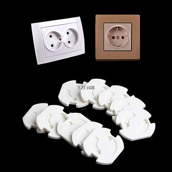 Power Socket Electrical Outlet Baby Kids Child Safety Guard Protection Anti Electric Shock Plugs Protector Rotate Cover