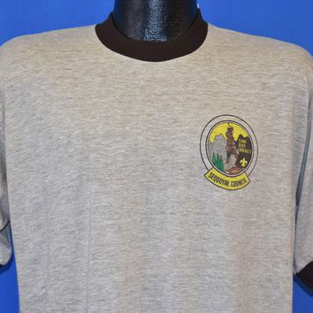 80s Boy Scouts Camp Davy Crockett t-shirt Large